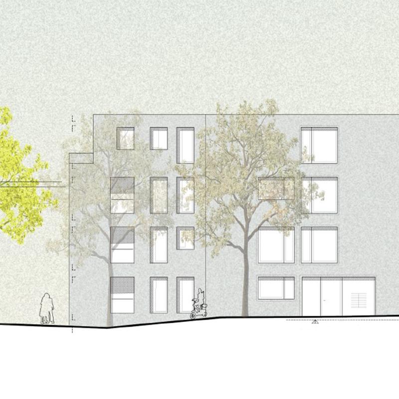 PlanQuadrat | Tubizer Straße als Neubau