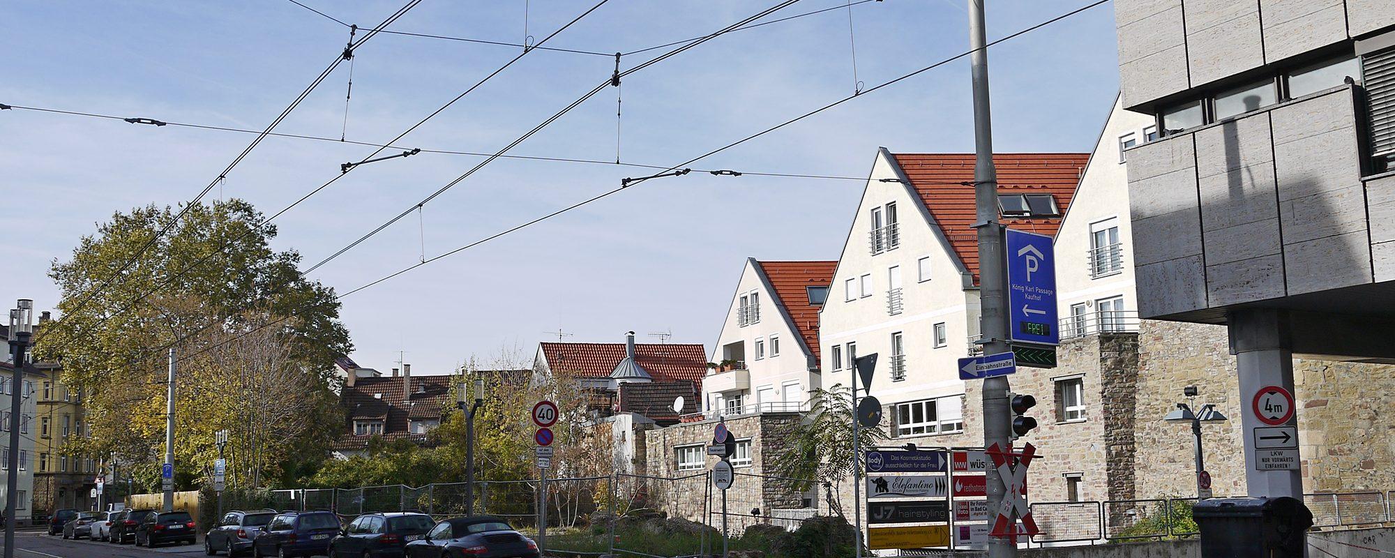 Referenz PlanQuadrat | Ausgangssituation für Motel One in Badstraße, Stuttgart